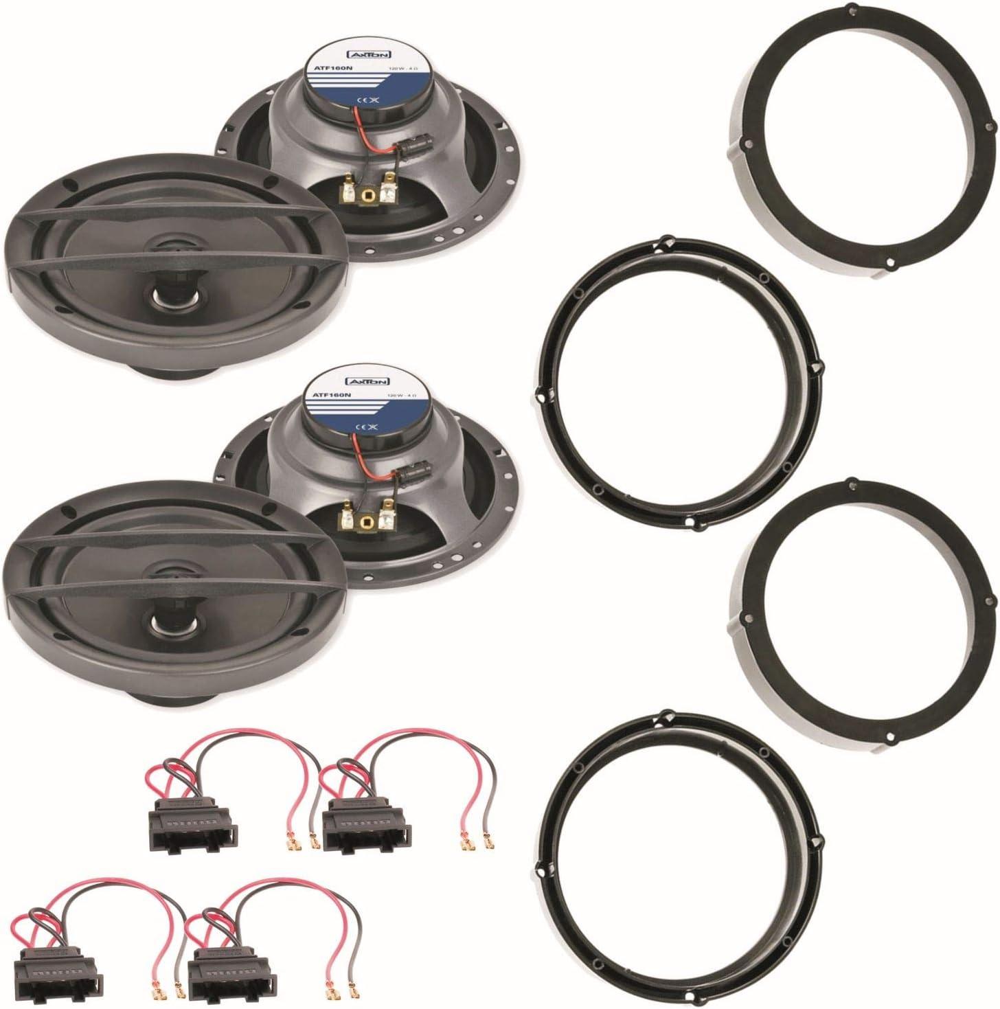 Axton Atf160n 16 5 Cm Lautsprecher Vorne Und Hinten Elektronik