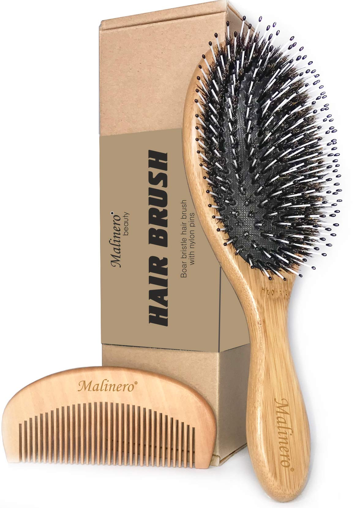 Styling Essentials Natural Boar Bristles Hair Brush Round Comb Twill 2 4 Inch Buy Online In Aruba At Desertcart