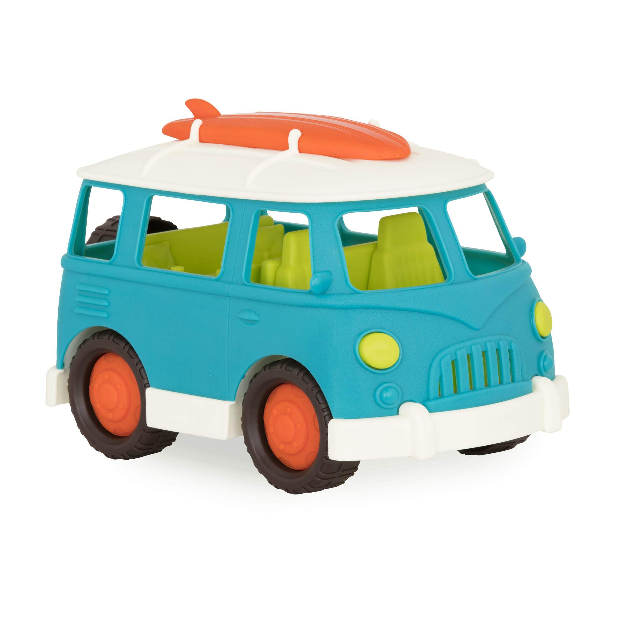 Wonder Wheels by Battat - Camper Van - Toy Truck with Opening Roof & Detailed Interior for Kids Age 1 & Up by Wonder Wheels by Battat