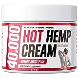 Hot Hemp Cream - 40000 MG - Lower Back