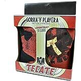 Tecate Beer Bottle Opener Hat Cap Gorra Playera Large LG T Shirt 2 Piece Set