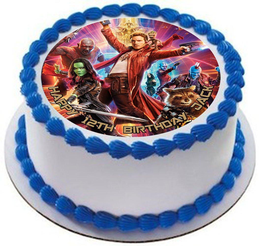 Guardianes de la Galaxy personalizado decoración para tarta ...