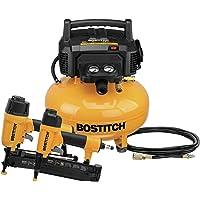 BOSTITCH Air Compressor Combo Kit, 2-Tool (BTFP2KIT)