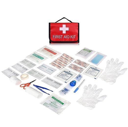 49 opinioni per Mini Compact Kit di primo soccorso Plusinno Sacchetto medico di emergenza per la