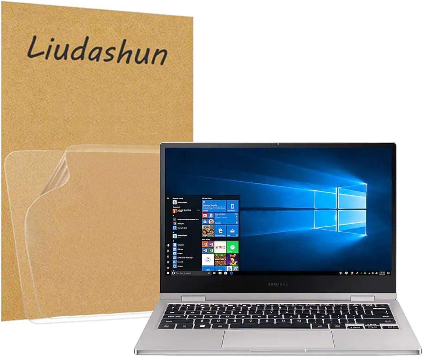 "Liudashun Screen Protector for Samsung Notebook 9 pro (NP930MBE NP930MBE-K01US NP930MBE-K04US NP930MBE-K02US NP930MBE-K03US) 2019 13.3"" Laptop [2 PACK]"