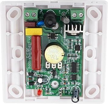 Bonlux Alto voltaje AC 220V-240V LED Triac Dimmer 14-llave ...