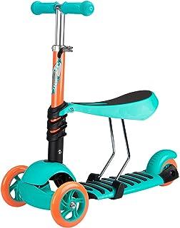 Nijdam Baby Tri - Scooter con Asiento Ajustable.