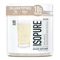 Isopure Multi Collagen Peptides Protein Powder, Vitamin C for Immune Support, Type...