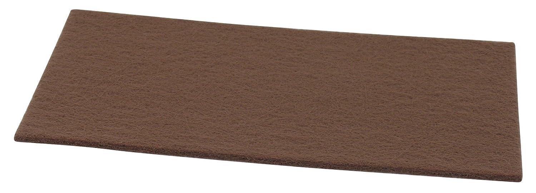 3M Bricolage et Bâtiment 5371 Patin feutre Standard épaisseur 4 mm 170 x 100 mm Marron