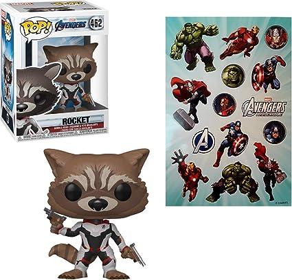 Avengers 4: Endgame Rocket Team Suit US Exclusive Pop -FUN36668 RS Vinyl