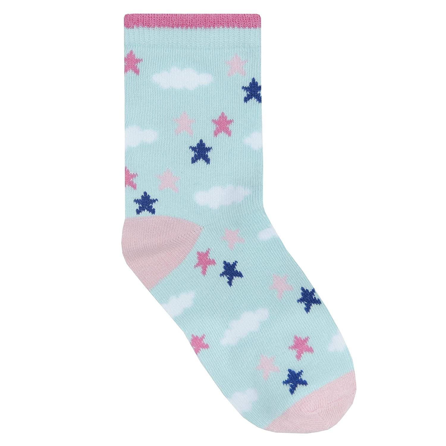 Girls 3 Pack of Unicorn Socks