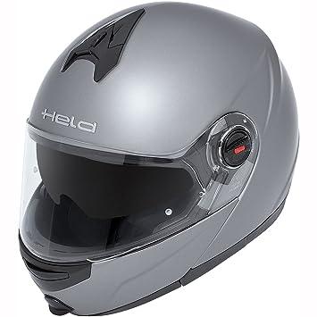 Héroe CT-1200 casco modular - plata-mate Talla:XS (53/