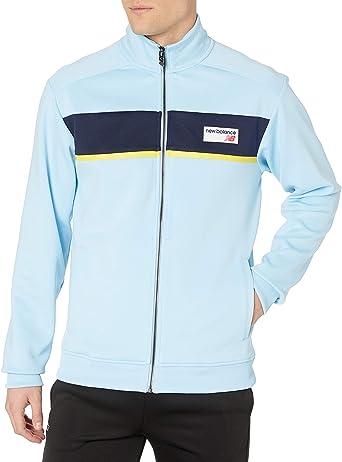 Mal uso sangre licencia  Amazon.com: New Balance Men's Athletics Track Jacket: Clothing