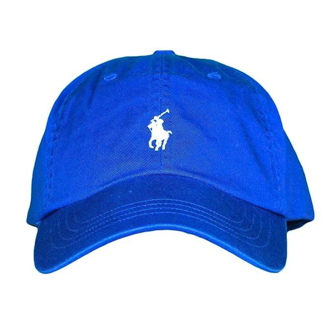 Ralph Lauren Casquette Bleu Royal Logo Bleu Ciel pour Homme  Amazon.fr   Vêtements et accessoires 062f77bf43a
