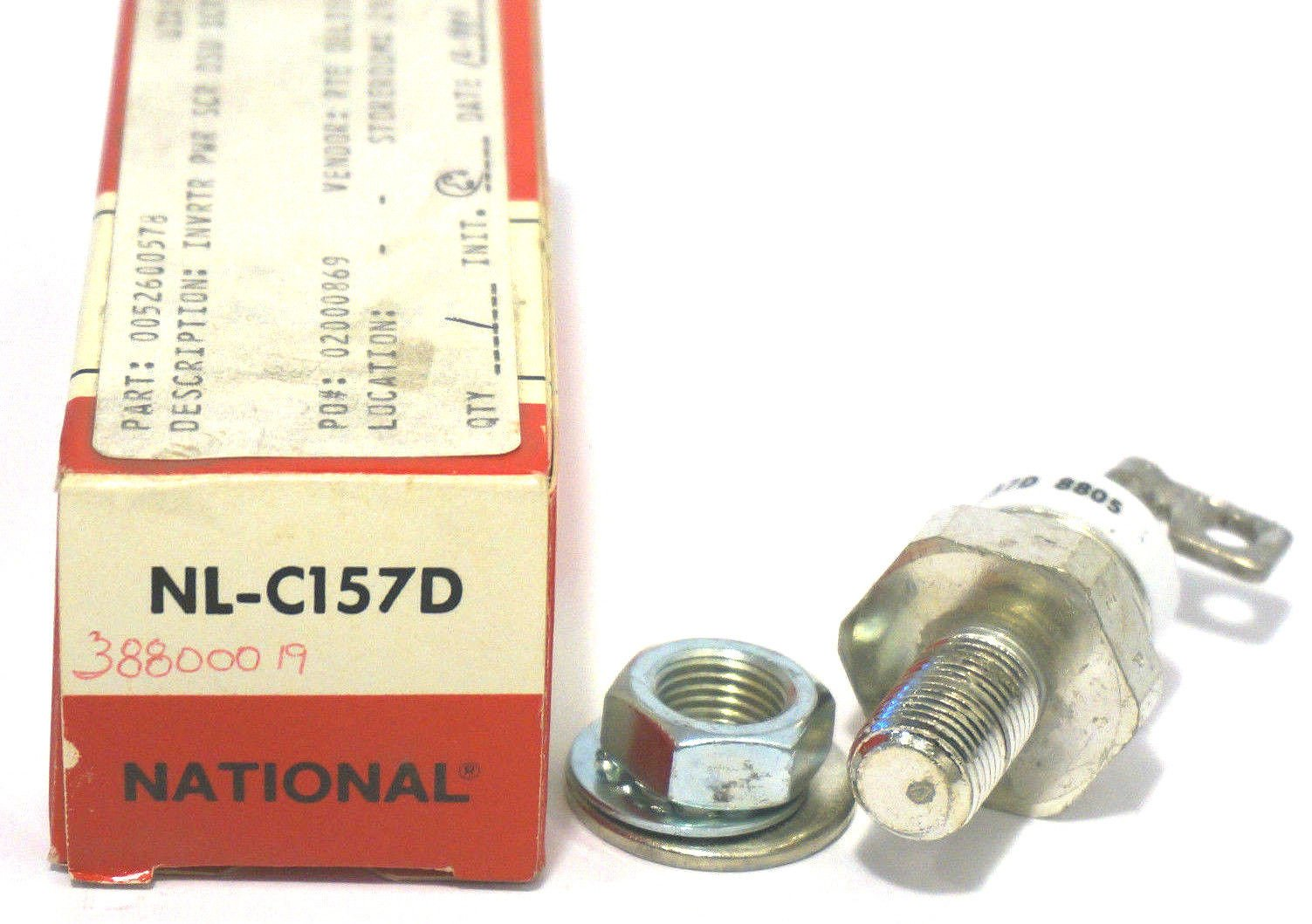 NEW NATIONAL NL-C157D TETRODE NLC157D