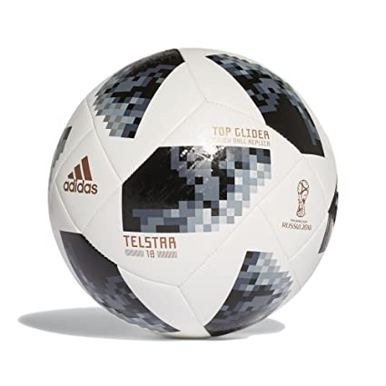 cheap for discount 6675e eb98a Adidas Top Glider FIFA 2018 World Cup Ball (White)-Size 4