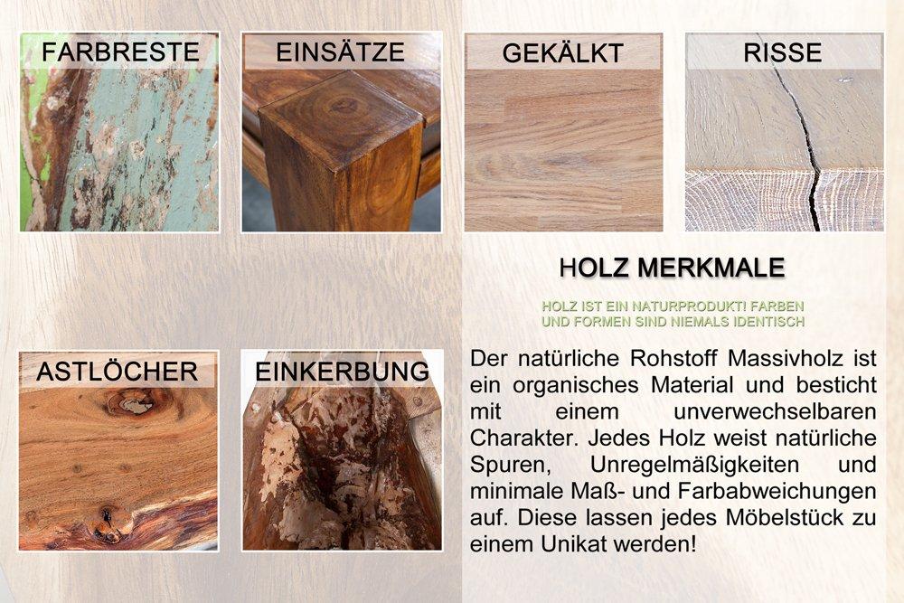 Massiver Hocker GOA Baumstamm Beistelltisch Aus Akazie 30 Cm Sitzhocker  Tisch: Amazon.de: Küche U0026 Haushalt