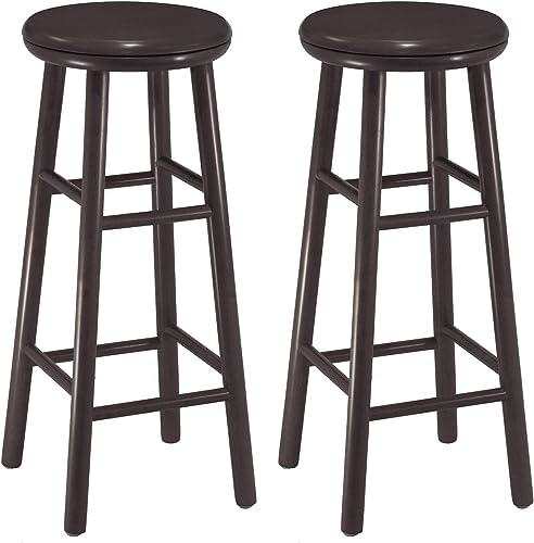 Winsome Wood Oakley Swivel Seat Bar Stool