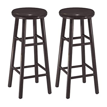 Surprising Winsome Wood Oakley Stool 30 Espresso Onthecornerstone Fun Painted Chair Ideas Images Onthecornerstoneorg