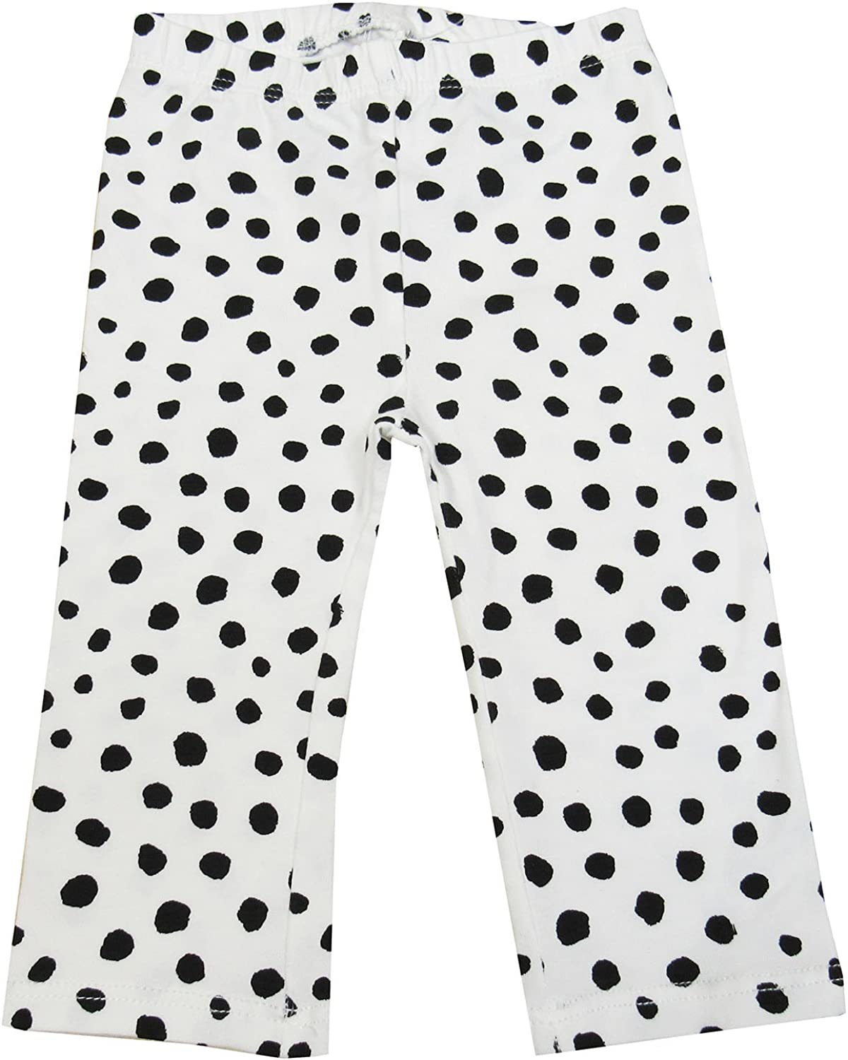 Polka Dot-Print Leggings Angel White 12 Months 0-24 Months First Impressions Baby Girls