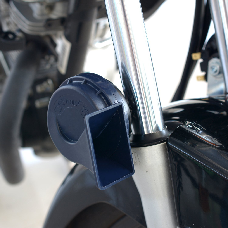 Samoleus Universale 12V 105-118dB Trombe Moto Auto Ultra Forte Allarme Sirena Corno Altoparlante Elettrico Lumaca Corno 2 Pezzi