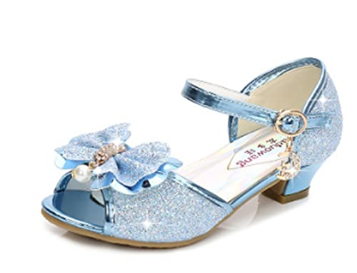 2c3877dbb YOGLY Sandalias Para Niñas 2018 Verano Niña Princess Crystal Zapatos con  Tacón Lentejuelas Brillantes Zapatos de Rendimiento Fiesta Sandalias   Amazon.es  ...
