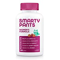 SmartyPants Women's Formula Gummy Multivitamins: Vitamin C, D3, and Zinc for Immunity...