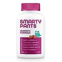 SmartyPants Women's Formula Gummy Multivitamins: Vitamin C, D3, and Zinc for Immunity...