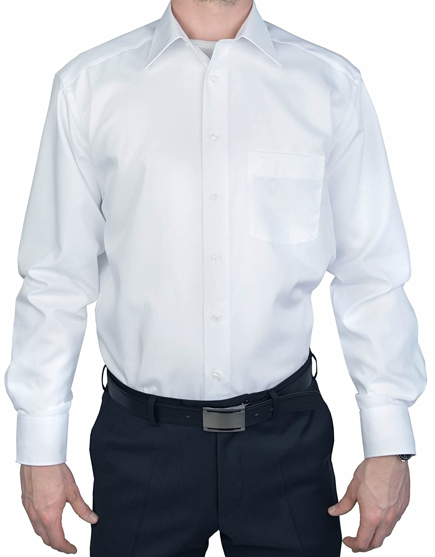 Marvelis Comfort Fit Shirt White