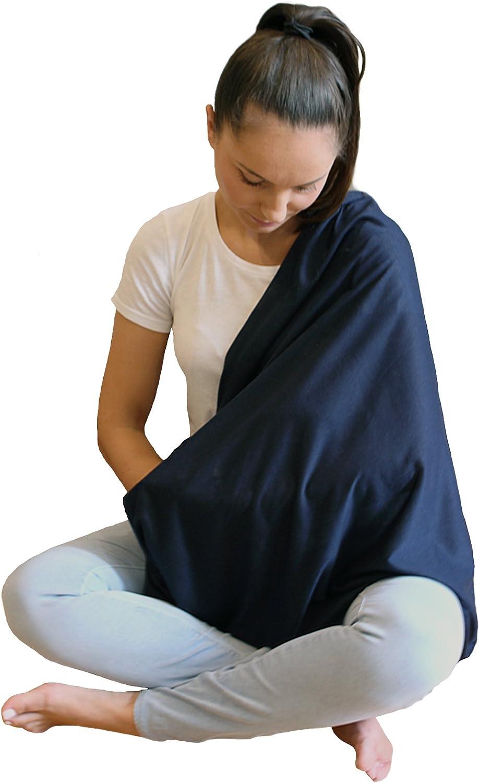 Housse dallaitement pour allaitement intimit/é extra large pour une couverture compl/ète Sans azo /él/égant et de haute qualit/é respirant 100/% coton