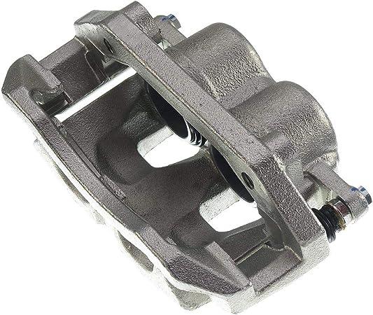 A-Premium Brake Caliper with Bracket for Dodge Dakota Ram 1500 Mitsubishi Raider 2005-2009 Front Passenger Side