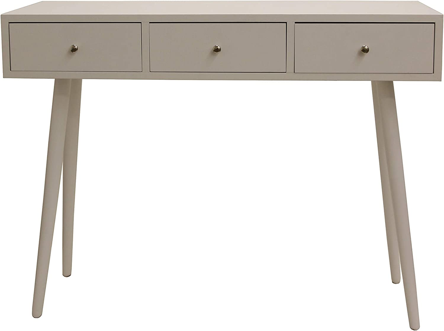Decor Therapy Console Table, Gloss White