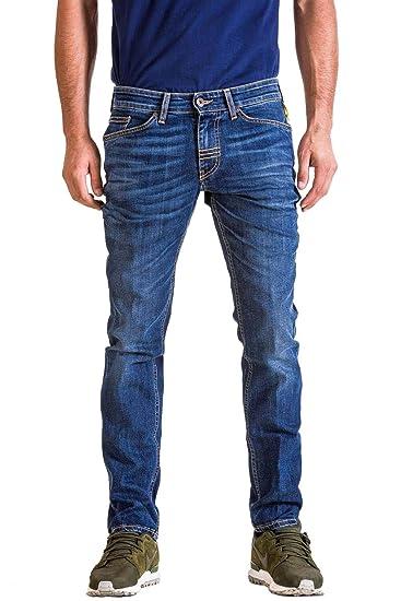 Jeans Uomo Meltin Pot Slim Style Maner Colour bf17 l32 (29)  Amazon ... 1954ee1846a