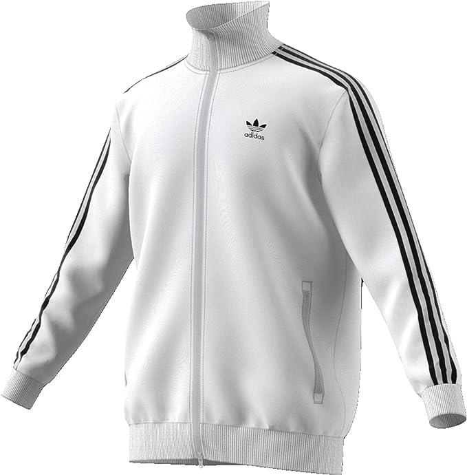 adidas Beckenbauer TT Jacke white: : Bekleidung