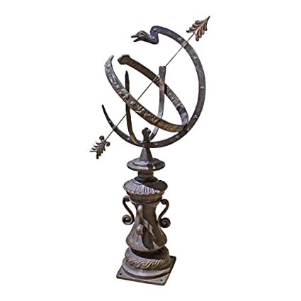 Design Toscano Hyde Park Authentic Armillary Sphere Garden Statue