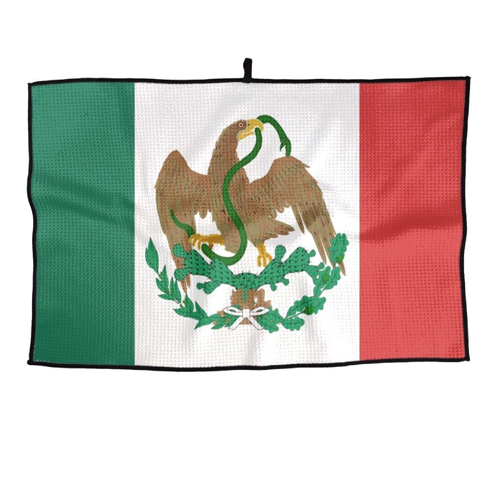 ゲームLife Mexican Flag Personalizedゴルフタオルマイクロファイバースポーツタオル   B07FC734FY