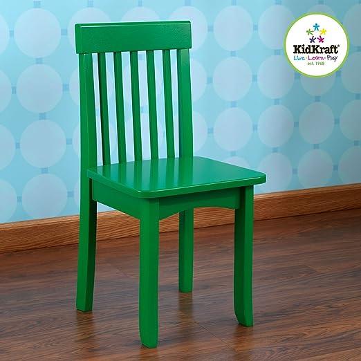 Amazoncom KidKraft Avalon Chair For Children Green Toys Games - Dbm hardwood flooring