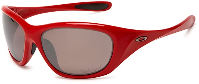 3abd6cabf3 Oakley Ladies Active Disclosure Red Carpet Sunglasses With Polarised Mirror  Lens (OO9130-06)  Amazon.co.uk  Clothing