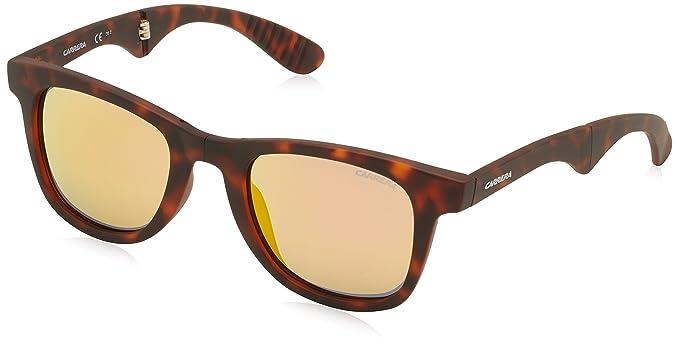 9c7637a170 Carrera 6000/FD UW 853 Gafas de sol, Marrón (Havana/Orange Flash Marl), 50  Unisex Adulto: Amazon.es: Ropa y accesorios