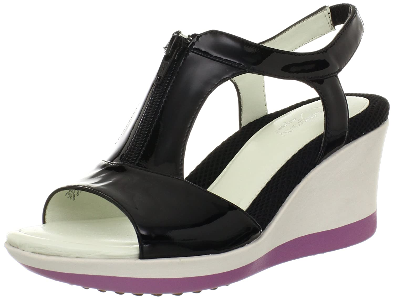 Easy Spirit Women's Johannes T-Strap Sandal B00BWU9ZHQ 9 B(M) US Black