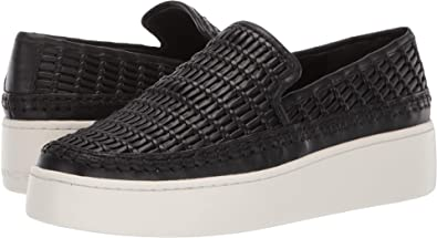 a6bbf8f7fcdf5 Amazon.com: Vince Women's Stafford Platform Slip On Sneakers: Shoes