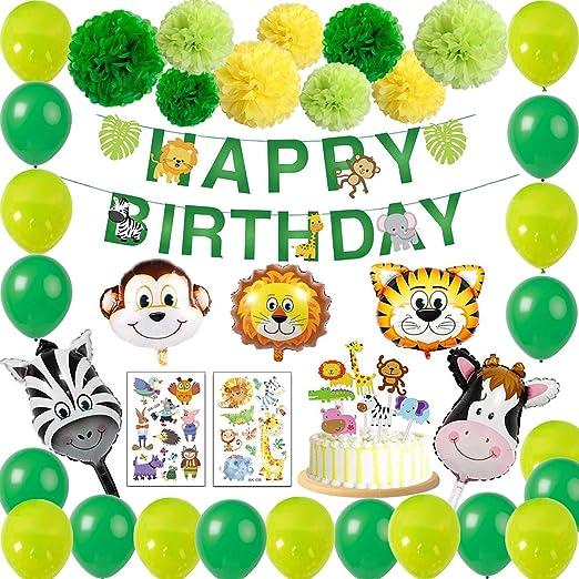 sancuanyi - Guirnalda Decorativa para cumpleaños Infantil ...