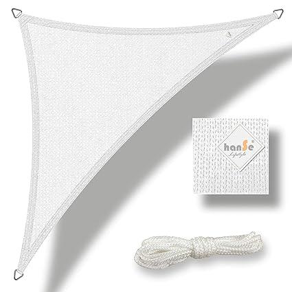 Dreieck aus HDPE Sonnensegel Sonnenschutz von hanSe®