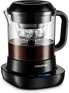 c4eae9f254b1 Gourmia GCM6800 Automatic Cold Brew Coffee Maker - 10 Minutes Fast Brew -  Patented Ice Chill