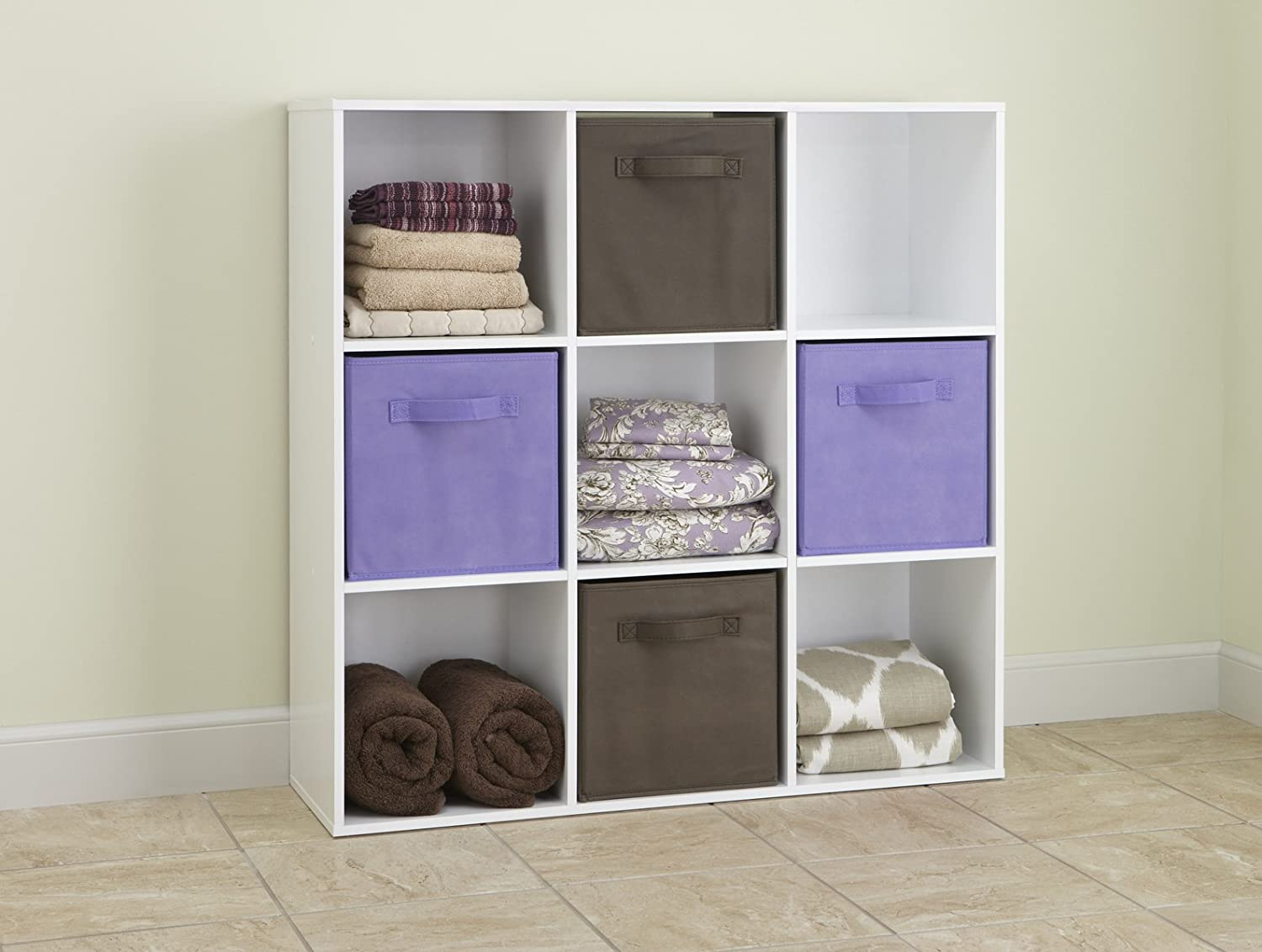 ClosetMaid Cubeicals Organizer, 9-Cube - White