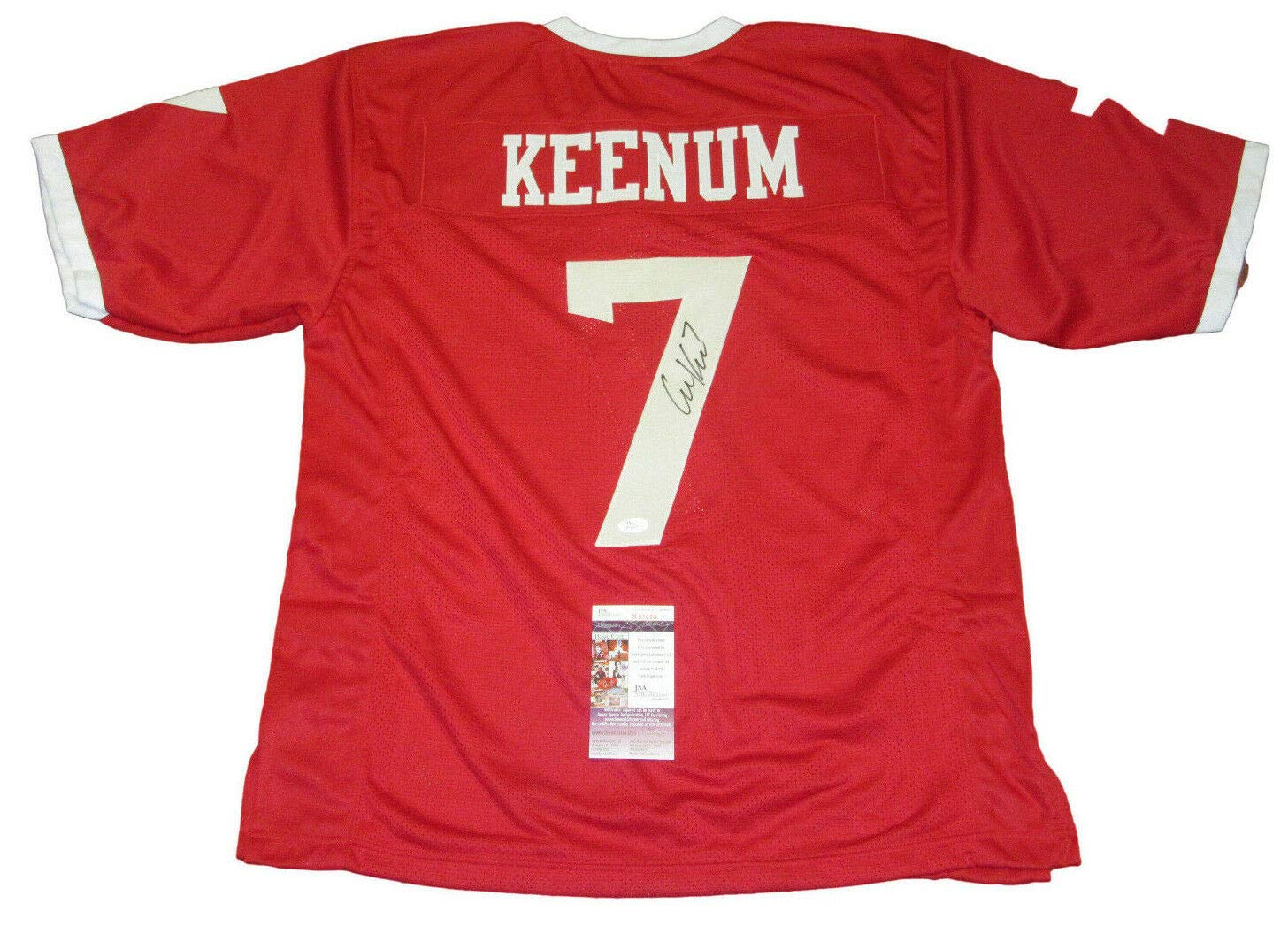 best website a64be f2d23 Case Keenum Autographed Signed Memorabilia Houston Cougars ...