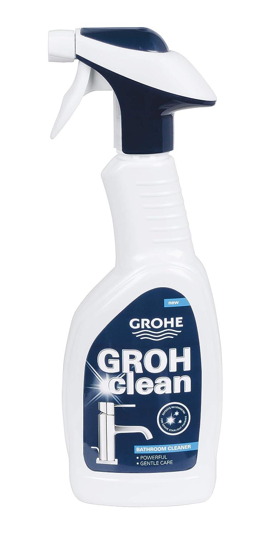Grohe Armaturenreiniger Grohclean Badreiniger 500 Ml Sprühflasche Reiniger 48166 Sanitär Waschtisch