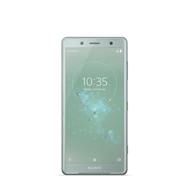 "Sony Xperia XZ2 Compact Smartphone, Display 5.0"", 64 GB, Mono Sim, Moss Verde [Italia]"