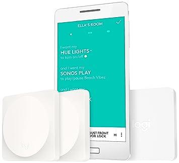 24cda2e3cfd Logitech Pop Add-On Home Switch Starter Kit- 2 Switches and 1 Bridge -  White: Amazon.co.uk: TV