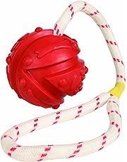 Trixie 33482 Naturgummiball, 7 cm/35 cm